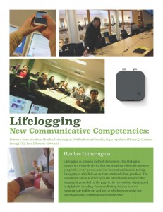 Lifelogging poster
