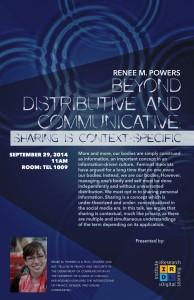 Beyond Distributive and Communicative - poster