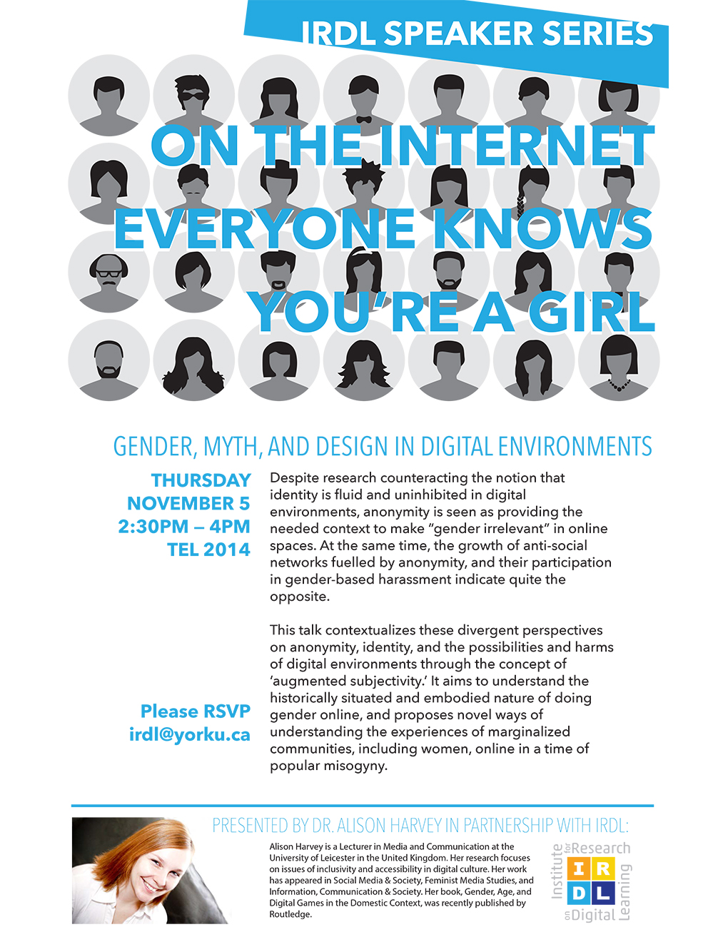 On the Internet, Everyone Knows You're a Girl: Gender, Myth, and Design in Digital Environments