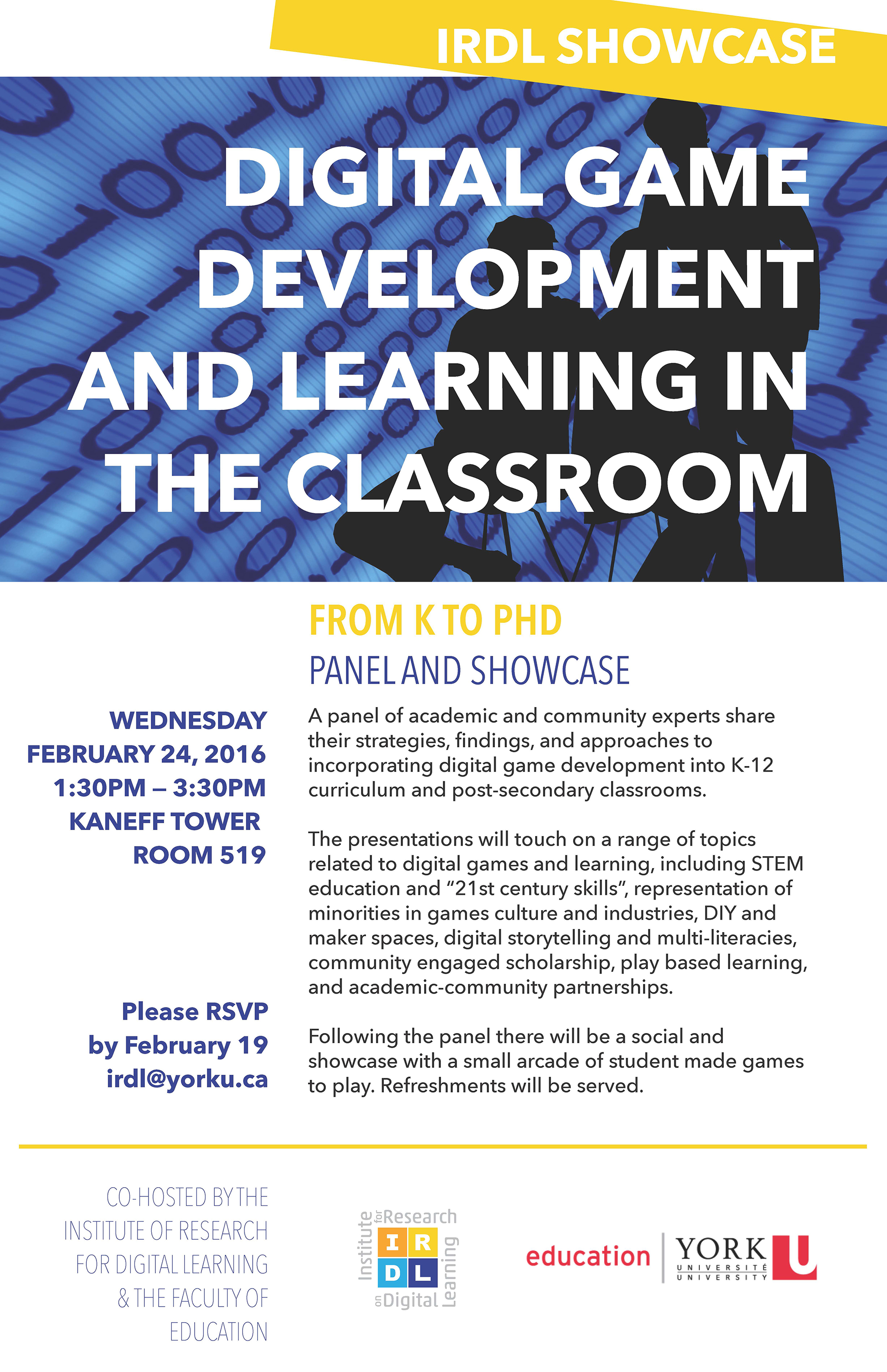 Digital Game Development and Learning in the Classroom, From K to PhD