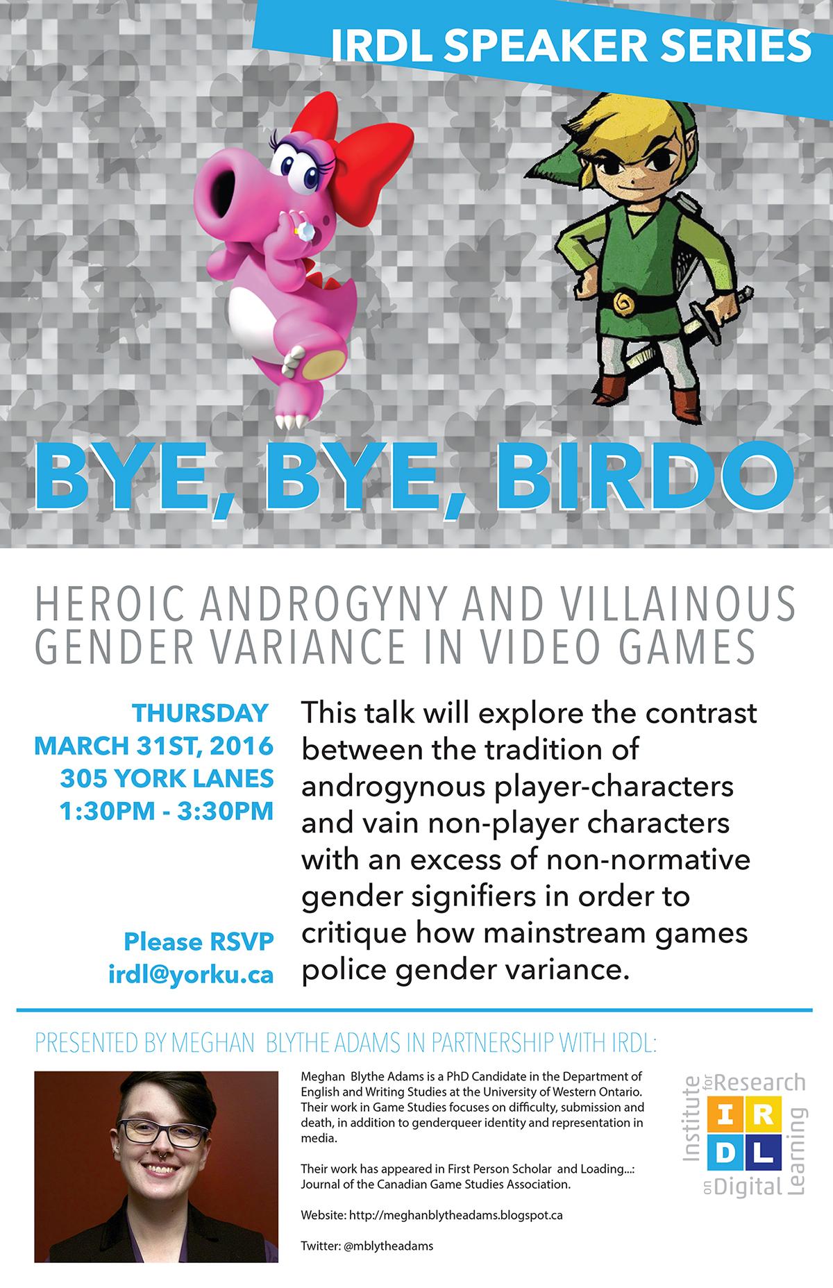 Bye, Bye, Birdo: Heroic Androgyny and Villainous Gender Variance in Video Games