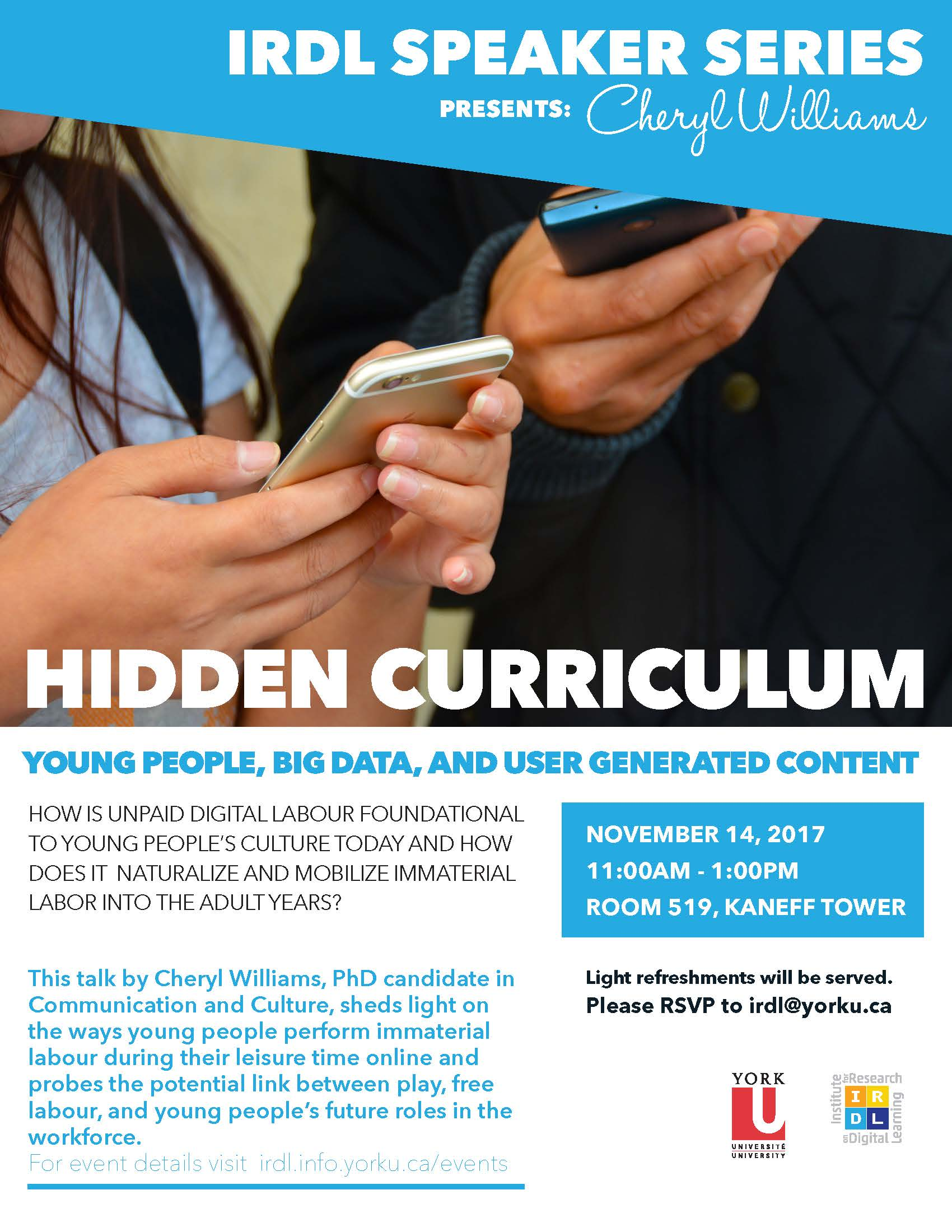 Hidden Curriculum: Young People, Big Data, and UGC