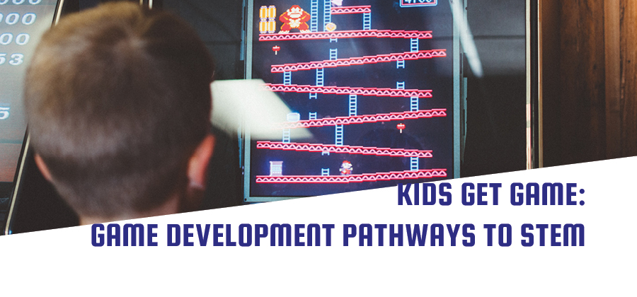 Kids Get Game: Game Development Pathways to STEM Achievement for Teachers and Learners