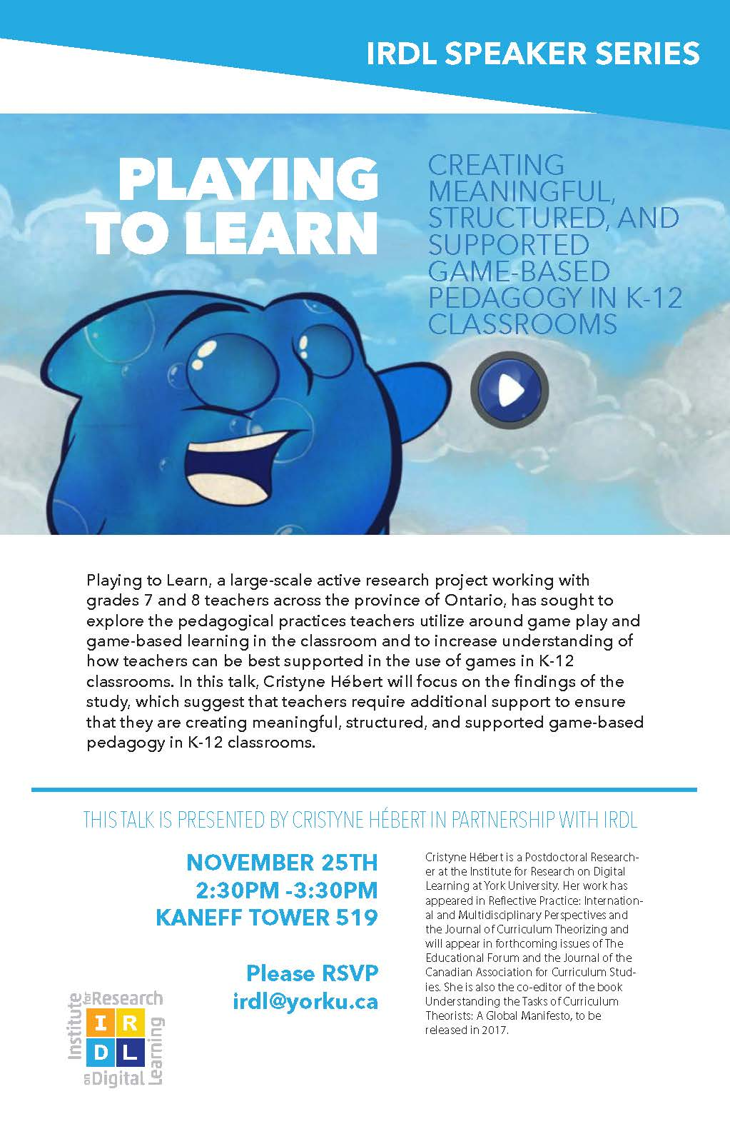 Playing2learn: Creating Meaningful, Structured, and Supported Game-Based Pedagogy in K-12 Classrooms