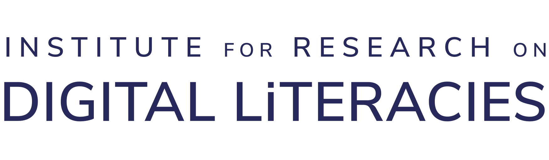 Institute for Research on Digital Literacies header