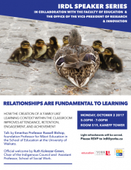 Russell Bishop - Relationships + Learning